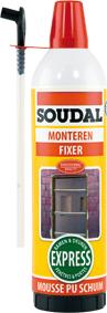 Soudal expert en colle mousse pu et mastics - Mousse polyurethane solide ...