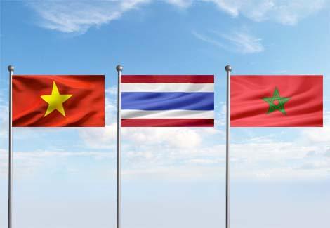 Soudal Vietnam Thailand Morocco