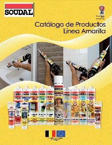 Soudal Chile Catálogo Linéa Amarillo 2015
